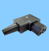 IEC-angle-connector-rewireable