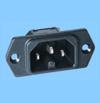 IEC-outlet