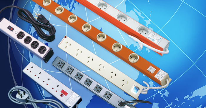 Country Specific Socket Strips