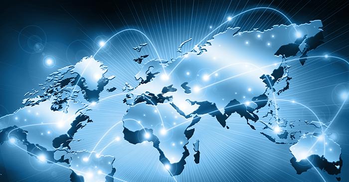 global market map