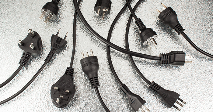 international power cords and cord sets