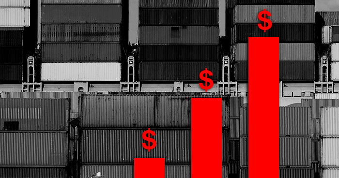 overseas shipping costs rise